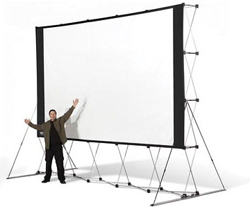 Large and unique Screen